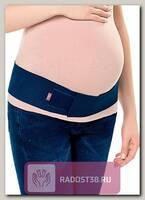 Бандаж пояс для беременных синий