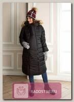 Пальто 2в1 для беременных Калипсо черный