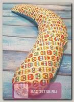 Подушка для кормления Релакс 190см Совы желтые