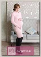 Платье для беременных пудра