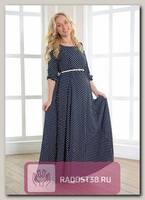 Платье для беременных и кормящих Аста горох