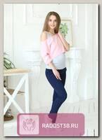Комплект из майки и топа для беременных