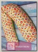 Подушка для кормления 190см Беж. совы с