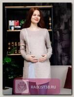 Туника для беременных и кормления бежевый