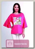 Блуза для беременных коралл