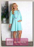 Платье нарядное для беременных салатовый