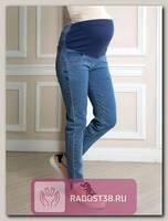 Джинсы для беременных светлый деним