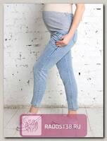 Джинсы для беременных Ната светлый деним