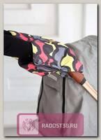 Муфта для рук для коляски флисовая Грея