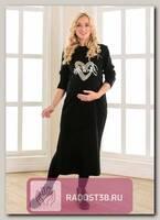 Платье Кайли для беременных черный