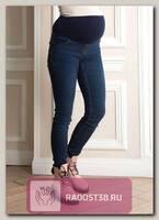 Джинсы для беременных синий