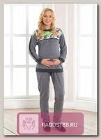 Костюм Моника для беременных серый