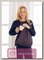 Джемпер Рита для беременных и кормящих синий