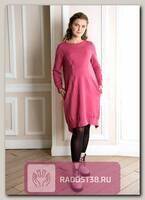 Платье для беременных и кормящих Оливия бордовый