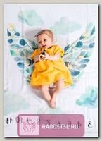 Муслиновая пеленка. Фотопеленка. Крылья