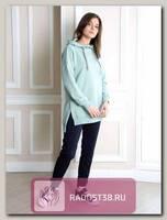 Худи для беременных Лив салатовый