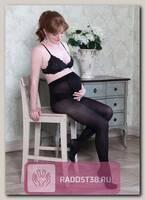 Колготки для беременных 50 den черный