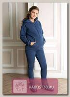 Костюм для беременных и кормящих Кайт синий