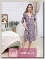 Комплект для беременных коричневый, розовый